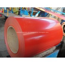 bobinas de chapas de aço galvanizadas PPGI