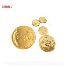 Monedas plásticas de galvanoplastia ligeras para la promoción