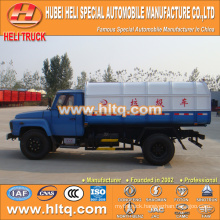 Hot sale low price 8m3 NEW dongfeng 4x2 hermetic garbage truck diesel engine