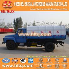 Горячая продажа низкая цена 8m3 NEW dongfeng 4x2 герметичный мусоровоз дизельный двигатель