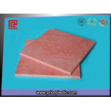 Feuille rouge de stratifié de Gpo-3 avec la haute précision pour l'épaisseur