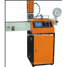 Máquina de corte ultrasónica de la etiqueta de la cinta
