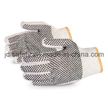 Строка перчатки с ПВХ точками Palm и обратно (S5600)