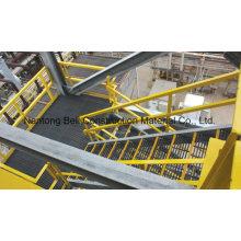 Main courante de fibre de verre de FRP, système de main courante de réseau, chemin de fer de fibre de verre, main courante, clôture.