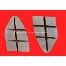 Железнодорожная высококачественных композитных тормозных колодок