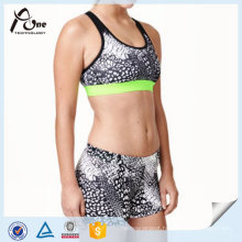 Hot Sexy Girl Photo Ladies Sexy Sports Bra and Shorts Set New Design