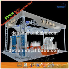 Round roof aluminum truss for hanging lighting for exhibition show made in Shanghai
