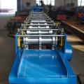 Building material steel tile sheet ridge cap roll forming machine