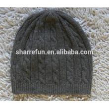 Usine en gros beaucoup style 100% hiver laine tricoté chapeaux pour hommes