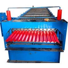Petit pain de toit en fer ondulé formant la machine à vendre