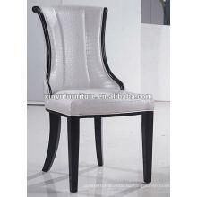 Белый PU кожаный обеденный стул XYD036