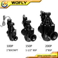 1 '' 1,5 '' 2 '' 3 '' 4 '' Kunststoff Magnetventil für die Bewässerung 24V DC