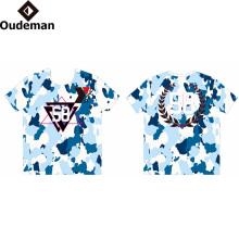 Impressão sublimada logotipo T Camisa Personalizada Impressão preço de fábrica dry fit camiseta