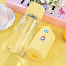 Portable double water bottle