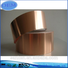 custom Thin Copper Foil sheet Tape conductive and rolled foil sheet