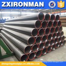 preço baixo carbono sem costura tubulação de aço para caldeira de alta pressão