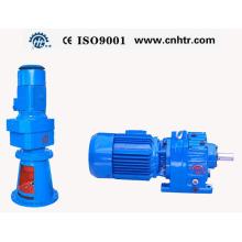 Mezclador reductor de engranajes de superficie dura coaxial helicoidal serie Hr