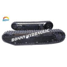 Mini Excavator Rubber Track Undercarriage