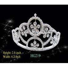 Buena fábrica de servicio directamente tiaras de boda y la corona