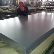 Feuille d'acier inoxydable brillant et brillant 304L