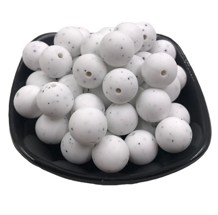 Silicone Round Beads