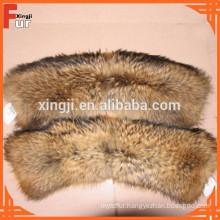 Raccoon Strips, Fur Collar / Fur Trim