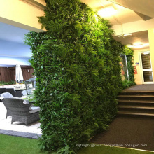 Hot products customized artificial foliage vertical hedge plants for sale