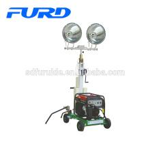 Poussez la tour d'éclairage portative de Ground Works (FZM-1000A)