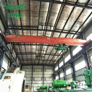 Nangungunang Running Single Girder Bridge Crane