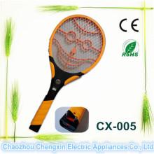 Raquete ambiental vendendo superior do assassino do mosquito com lanterna elétrica