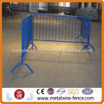 Metal utilizado barreira de controle de multidão utilizado para a segurança de tráfego