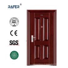 Nouvelle porte en acier à quatre panneaux (RA-S078)