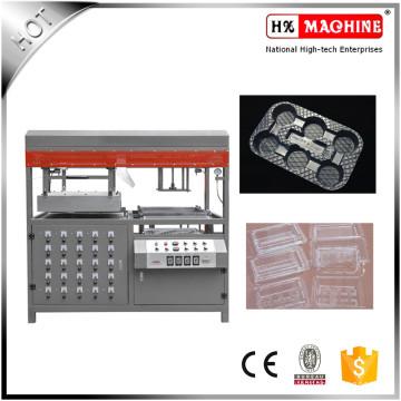Vácuo manual semiautomático que forma o preço da máquina para a bandeja plástica