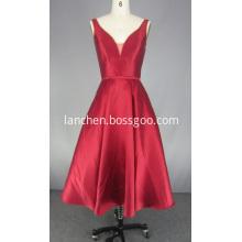 Red V Neck Prom Dresses for Women