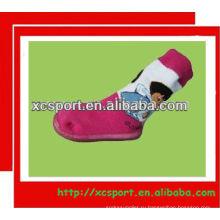 Мягкая резиновая подошва детская обувь носки