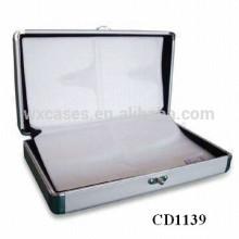 alta calidad CD 64 discos aluminio CD de titular por mayor