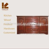colored with hardware plywood carcass customize solid wood kitchen cabinet