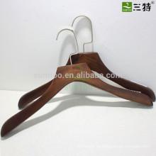 Retro Farbe Lotus Holz Kleiderbügel mit Anti-Rutsch
