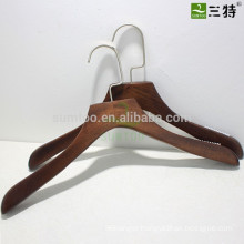 Retro Color Lotus Wooden Hanger With Non-slip
