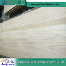 3mm A Grade Glued Paulownia Board Kiln Dried