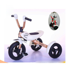 China Factory New Model Folding Tricycle pour enfants pour enfants Play