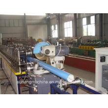 Высокая скорость качество CE&/ИСО Цвет стальной дождевой воды водосточная труба делая машинное оборудование
