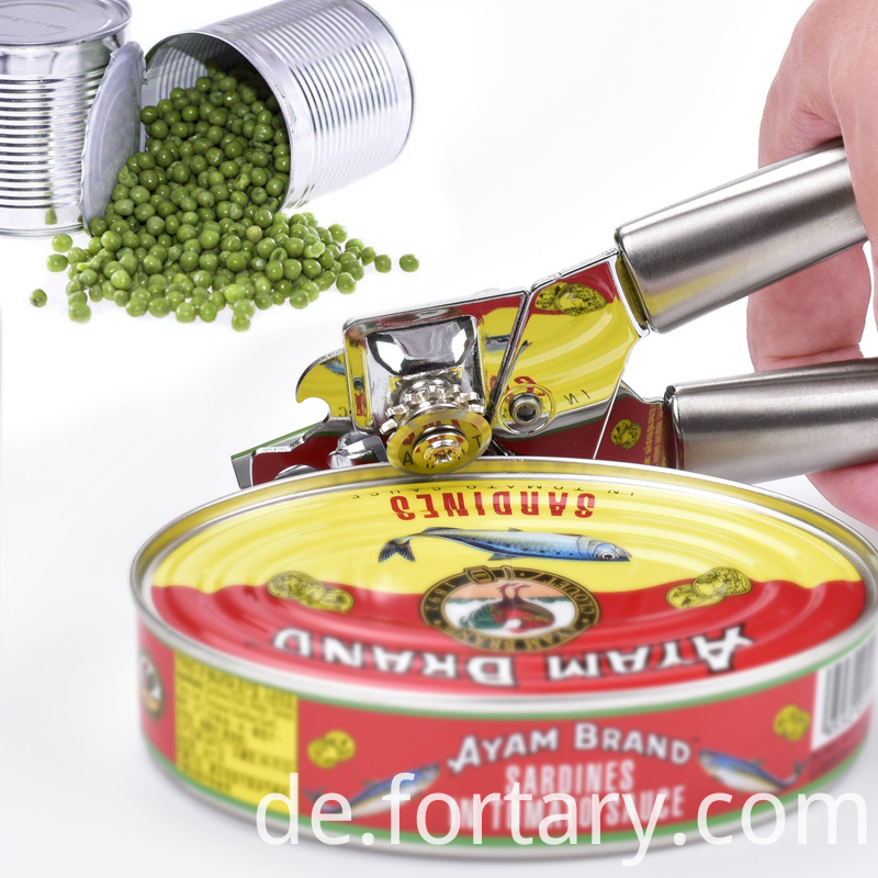 Heavy Stainless Steel Can Opener