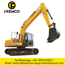 Yellow 0.5m3 Bucket Crawler Excavator
