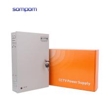 SOMPOM 12V 20A 18CH 240W 85% efficiency CCTV Camera Power Supply