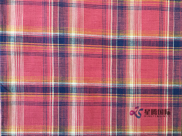 Bamboo Plaid Fabric