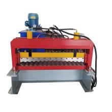 galvanized corrugated steel sheets machine from China