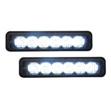 montaje en superficie del vehículo de emergencia led luz estroboscópica mini LED luz DC12V 6W