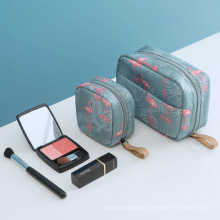 Customized Cheap Small Cosmetic Polyester Storage Bag Waterproof Portable Lady Cosmetic Bag