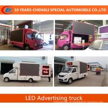 2016 Novo caminhão de publicidade LED LED caminhão móvel de tela LED P6 P8 P10